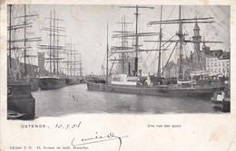 619 Bateaux Ostende Une Vue Des Quais - Bateaux
