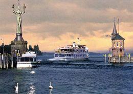 """1 AK Germany * Hafeneinfahrt Von Konstanz Mit Der Statue """"Imperia"""" (von Peter Lenk 1993 Geschaffen) * - Konstanz"""