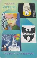 Télécarte Japon / 110-197894 - DISNEY - MICKEY MOUSE & Château - Japan Phonecard TK Rel.- Tarjeta Tel. - Disney