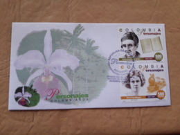 Colombia Fdc Caractères Colombiens 1997 - Colombia