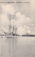 619 Bateaux Ostende Une Vue Du Port - Ships