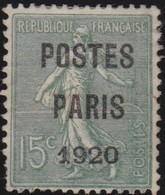 France  .   Yvert     .   P. 25   (2 Scans)     .   (*)     .    Pas De Gomme  .  /   .   No Gum - Préoblitérés