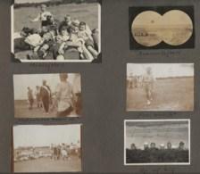 120819 - 9 PHOTOS 1924 DANEMARK SCOUTISME FDF Landslejr Julsolejr - Jeunesse Chrétienne Danoise Bain Camp  Jeu Nu - Autres