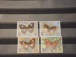 TUVALU - 1981 FARFALLE 4 VALORI - NUOVI(++) - Tuvalu