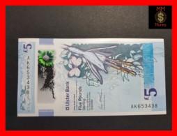 IRELAND NORTHERN 5 £ 12.4.2018  POLYMER ULSTER BANK P. NEW UNC - Ierland