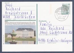 Germany-BRD - Bildpostkarte Von 1993 - P 151 X 3/39 - Gebraucht - Brühl, Schloss Augustusburg (P151x) - [7] República Federal