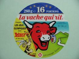 """Etiquette Fromage Fondu - Vache Qui Rit - 16 Portions Bel Pub """"Astérix Et Les Jeux Olympiques""""   A Voir ! - Cheese"""