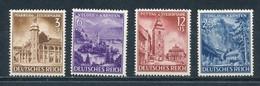 Deutsches Reich 806/09 ** Mi. 20,- - Nuovi