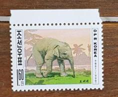 COREE DU NORD, Elephants, Elephant. 1 Valeur Emise En 1998 Neuf Sans Charniere, MNH - Elefanti
