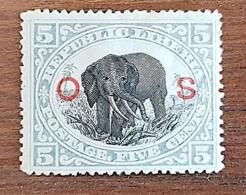 LIBERIA, Elephants, Elephant. Yvert N° 38 Service.  MLH, Neuf Avec Charniere - Olifanten