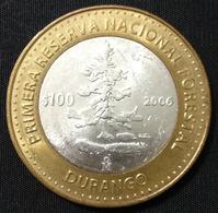 MEXICO 2006 $100 DURANGO BIMETALLIC Silver Core Original Shine See Image, Bargain Priced - Mexico
