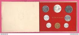 Vaticano Serie Anno Santo 1975 Holy Year Papa Pope Paolo VI° Vatikan State 8 Monete - Vaticano