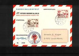 Germany / Deutschland 1970 27. Deutscher Kinderdorf Ballonflug - BRD