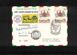 Germany / Deutschland 1971 29. Deutscher Kinderdorf Ballonflug - BRD