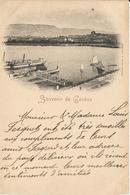 SUISSE  /  1898  SOUVENIR  DE  GENÈVE  /  Port - GE Genève