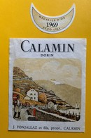 11361 -Calamin 1969 J.Fonjallaz   Suisse - Politica (vecchia E Nuova)