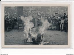 Scherwiller : E. Schweitzer Photographe à Selestat, Fete De La Libération En 1945, - Tres Bon Etat - Altri Comuni