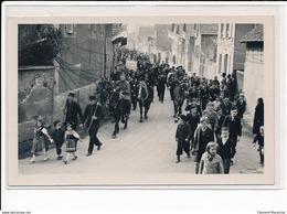 Scherwiller : E. Schweitzer Photographe à Selestat, Fete De La Libération En 1945, Attelage - Tres Bon Etat - Altri Comuni