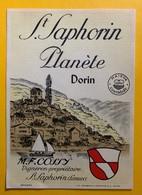 11362 - St.Saphorin Planète M.F. Cossy   Suisse - Politica (vecchia E Nuova)