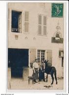 CARTE PHOTO A LOCALISER : Marechal Ferrand, âne - Etat - Photos