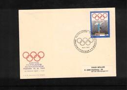 Poland 1969 Gymnastics Interesting Cover - Gymnastik