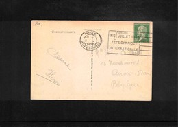 France 1932 Gymnastics Interesting Cover - Gymnastik