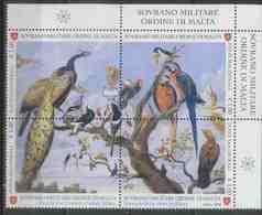 Sovrano Militare Ordine Di Malta, SMOM 2018 Art, Paintings, Paul De Vos, Birds - Malte (Ordre De)