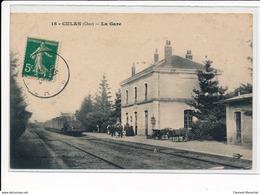 CULAN : La Gare - Tres Bon Etat - Culan