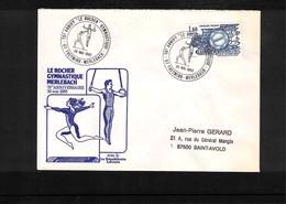 France 1982 Gymnastics Interesting Cover - Gymnastik