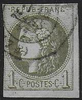 Bordeaux  N° 39C    Cote : 180 € - 1870 Emission De Bordeaux