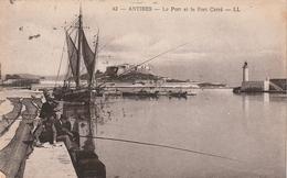 06  Antibes. Le Port Et Le Fort Carré - Antibes