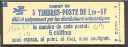 950) Carnet 1974 C1 Daté 3/5/78 -GB - Freimarke