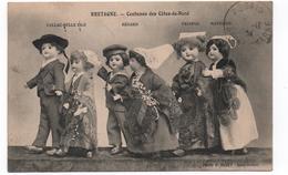 22- Bretagne- Costumes Des Cotes Du Nord ( Callac-Belle Isle,Begard,Matignon, Paimpol ) Ed Binet   -CPA - Ohne Zuordnung