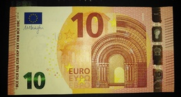 10 EURO P006G2 Netherlands  Serie PA Draghi Perfect UNC - EURO