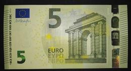 5 EURO W002D5 DRAGHI GERMANY SERIE WA Perfect UNC - 5 Euro