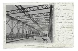 60/ OISE...CREIL: Sur Le Pont De Fer - Creil