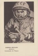 Evènements - Sciences Astronomie Espace - Russie Russia - Cosmonaute Andrian Nikolaiev - Editeur Sud-Aviation Courbevoie - Evénements