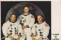 Evènements - Sciences Astronomie Espace - 4 Pas Sur La Lune - Astronautes Armstrong Aldrin Collins - Evénements