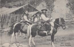 AK  - Ukraine  - HUZULEN In Tracht Auf Pferden 1900 - Ukraine