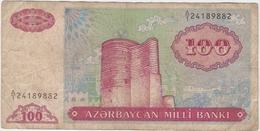 Azerbaijan 100 Manat 1993 (1) P-18 /017B/ - Aserbaidschan