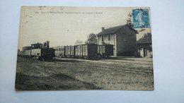Carte Postale ( X4 ) Ancienne De Ferrieres D Aunis , La Gare - Altri Comuni