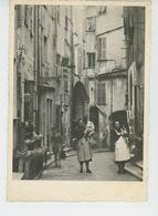 MENTON - Rue Longue - Menton