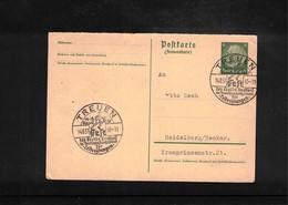 Germany / Deutschland 1937 Gymnastics - Turnfest Interesting Cover - Gymnastik