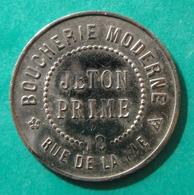 Chartres - Boucherie Moderne Rousseau - Jeton Prime - Monétaires / De Nécessité