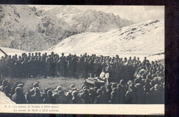 Italië Italy Italien - 1915  - La Guerra Italiana - La Messa Di Natale - Italy