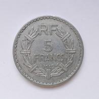 5 Francs Münze Aus Frankreich Von 1945 (sehr Schön) II - J. 5 Francs