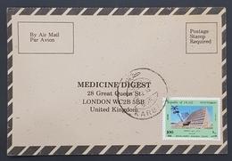 1985 Iraq, Medicine Digest, Carte Response, Karbala - London - Iraq
