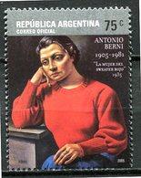 Argentine - 2005 - Yt 2509 - Hommage Au Peintre Antonio Berni - ** - Nuevos