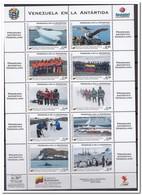 Venezuela 2010, Postfris MNH, Penguins, Birds, Fish, Antarctic Expedition - Venezuela