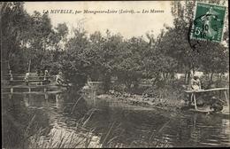 Cp La Nivelle Par Meung Sur Loire Loiret, Les Mauves - Francia